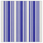 [ Thumbnail: Dark Blue & Light Cyan Colored Pattern Fabric ]