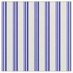 [ Thumbnail: Dark Blue & Light Cyan Pattern Fabric ]