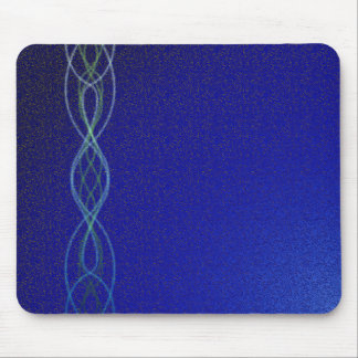Dark Blue Lights Mouse Pad