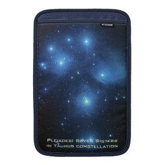 "Dark Blue MacBook Air 11"" Sleeve With Pleiades"