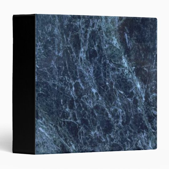 Dark Blue Marble : Dark blue marble ring binder zazzle