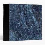Dark Blue Marble Binders