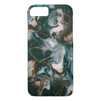 Dark blue marble  Iphone 7/8 case