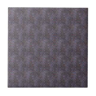 Dark Blue Mauve Orange Abstract Tile