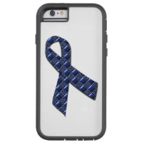 Dark Blue Metallic Tough Xtreme iPhone 6 Case