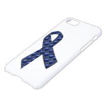 Dark Blue Metallic iPhone 7 Case