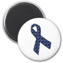 Dark Blue Metallic Magnet