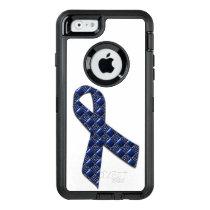 Dark Blue Metallic OtterBox Defender iPhone Case