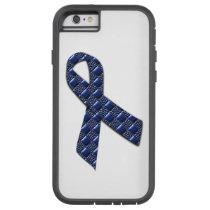 Dark Blue Metallic Tough Xtreme iPhone 6 Case