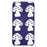 Dark blue mushroom iPhone 5C cover