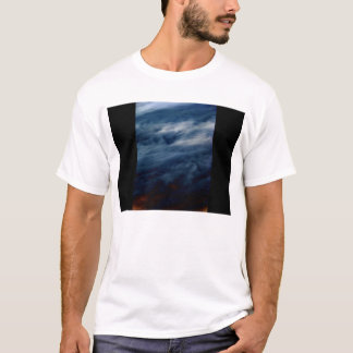 Dark Blue Oceanic Jet Stream 3 by KLM T-Shirt