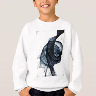 dark blue of wirl smoke and danger sweatshirt