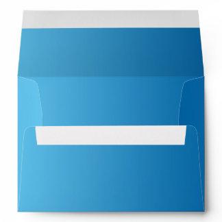 Dark Blue Ombre A7 Envelope