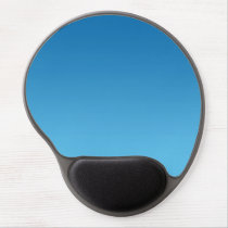 """Dark Blue Ombre"" Gel Mouse Pad"