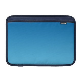 Dark Blue Ombre MacBook Sleeve