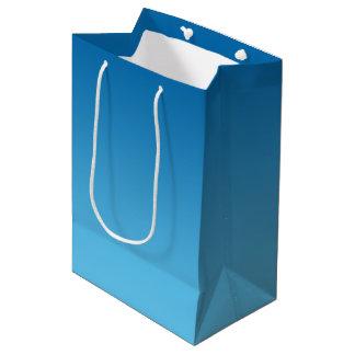Dark Blue Ombre Medium Gift Bag