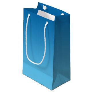 Dark Blue Ombre Small Gift Bag
