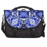Dark blue pattern bags for laptop
