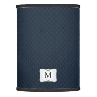 navy lamp shades zazzle. Black Bedroom Furniture Sets. Home Design Ideas