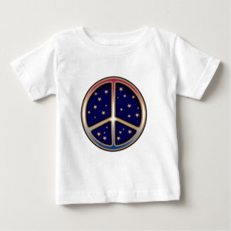 DARK BLUE PEACE SIGN BABY T-Shirt