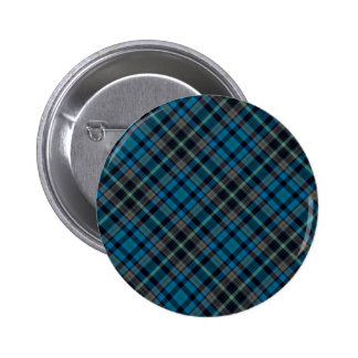 Dark Blue Plaid Button