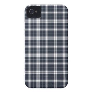 Dark Blue Plaid iPhone 4s Case Case-Mate iPhone 4 Case