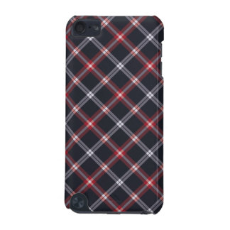 Dark Blue Plaid iPod Touch 5G Cover
