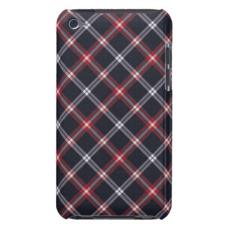 Dark Blue Plaid iPod Touch Case-Mate Case