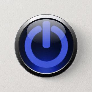 Dark Blue Power Button