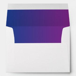 dark purple printed mailing envelopes zazzle