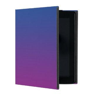 Dark Blue & Purple Ombre iPad Cover