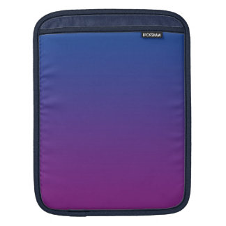 Dark Blue & Purple Ombre iPad Sleeves