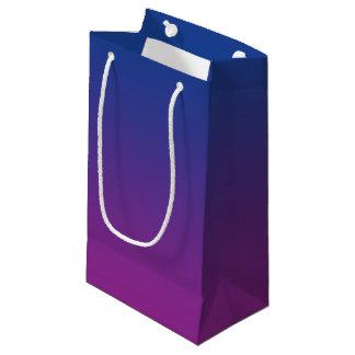 Dark Blue & Purple Ombre Small Gift Bag