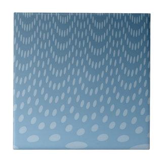 Dark Blue Rain Ceramic Tile