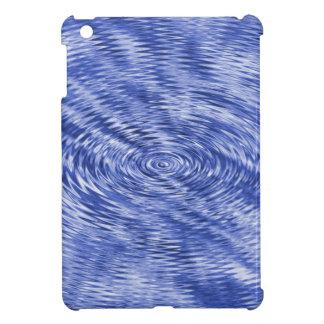 Dark Blue Ripples iPad Mini Cover