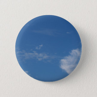 dark blue sky white clouds button
