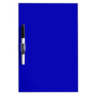 Dark Blue Solid Color Dry-Erase Board
