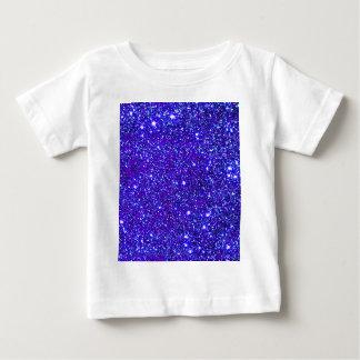 Dark Blue Sparkle Glitter Night Sky Starfield Star Infant T-shirt