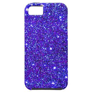 Dark Blue Sparkle Glitter Night Sky Starfield Star iPhone SE/5/5s Case