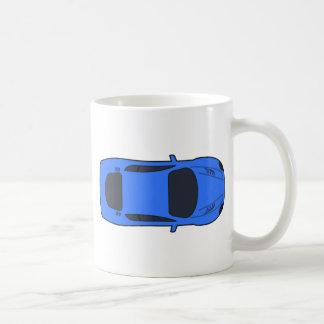 Dark Blue Sports Car Coffee Mug