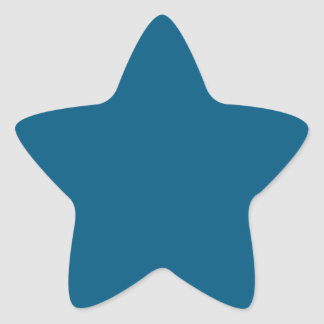 Dark Blue Star Sticker