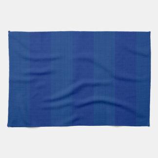 Dark Blue Stripes Hand Towel