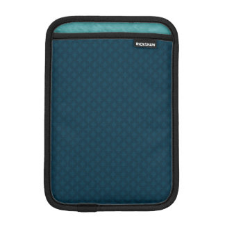 Dark Blue & Teal Custom iPad Mini Sleeve