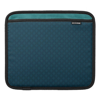 Dark Blue & Teal Custom iPad Sleeve