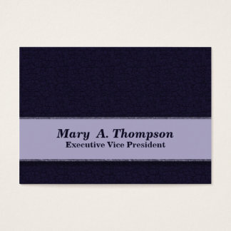 Dark Blue Texture Business Card