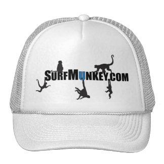 """Dark blue """"U"""" in Hanging Munkeys design Trucker Hat"""