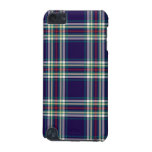 Dark Blue Vintage Plaid iPod Touch (5th Generation) Cover