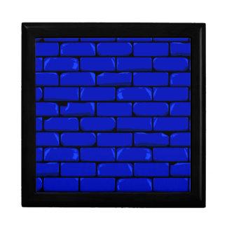 Dark Blue Wall Jewelry Box