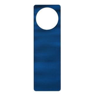 Dark Blue Water Ripples Door Knob Hanger