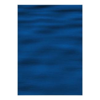 Dark Blue Water Ripples Card